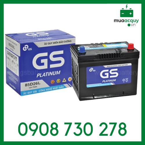 Bình ắc quy GS 75Ah - MF 85D26L
