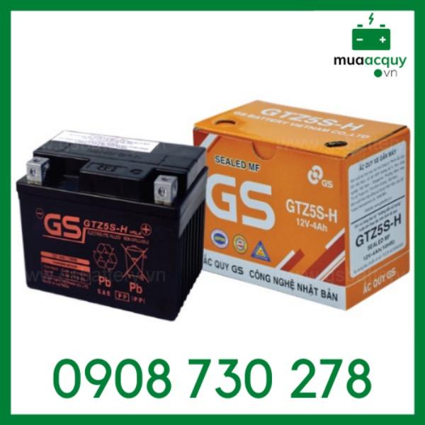 Bình ắc quy GS GTZ5S-H (12V - 4Ah)