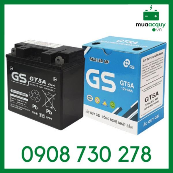 Bình ắc quy GS GT5A (12V - 5Ah)