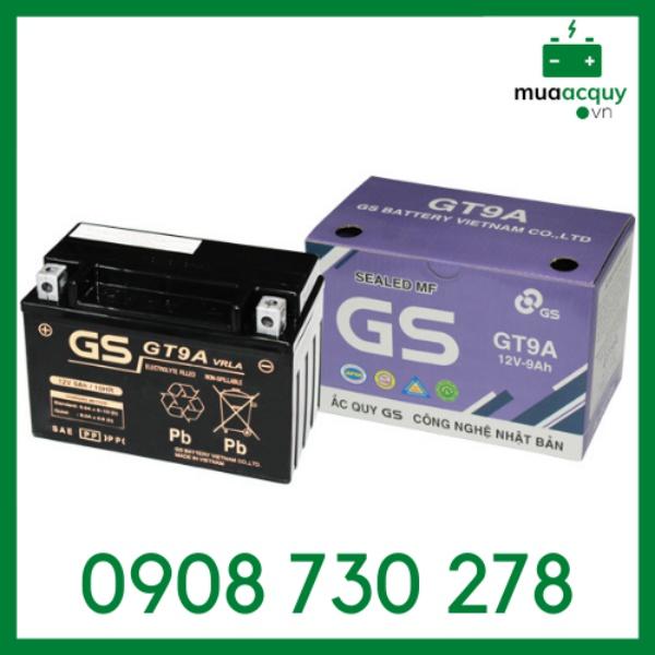 Bình ắc quy GS GT9A (12V - 9Ah)
