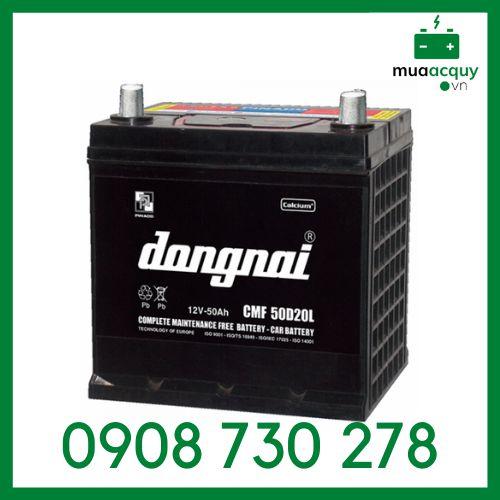 Ắc Quy Đồng Nai CMF 50D20 R/L(12V-50Ah)