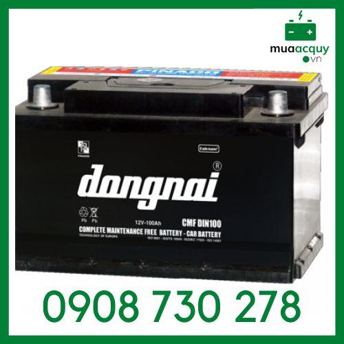 Ắc quy Đồng Nai CMF DIN100 (12V-100Ah)