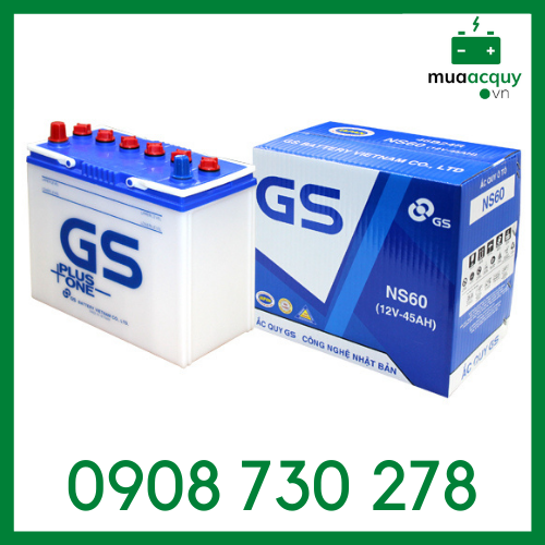 Ắc quy GS NS60 (12V - 45Ah)