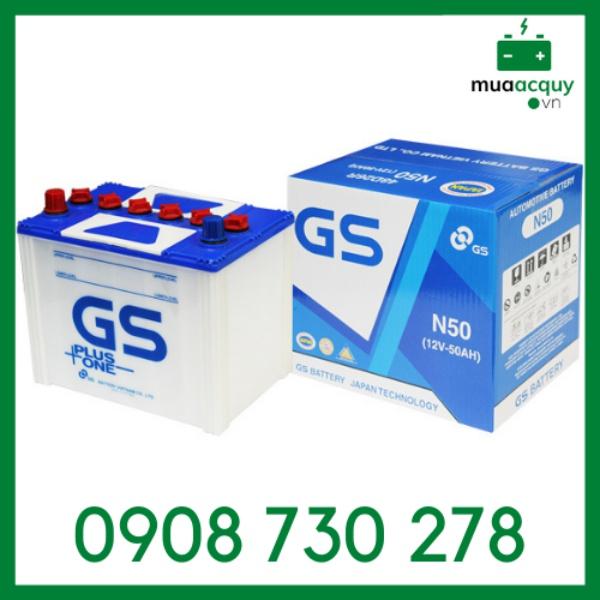 Bình ắc quy GS 50Ah - N50