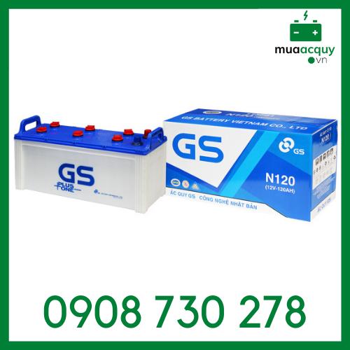 Bình ắc quy GS 12V 120Ah - N120